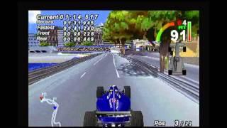 F1 World Grand Prix - PS1 - Monaco