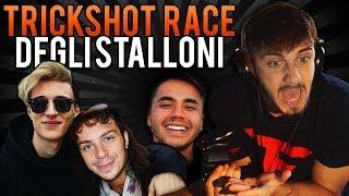 VIDEO SPECIALE - TRICKSHOT RACE CON GLI STALLONI!