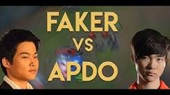 FAKER vs APDO | Battle of the Midlane Gods