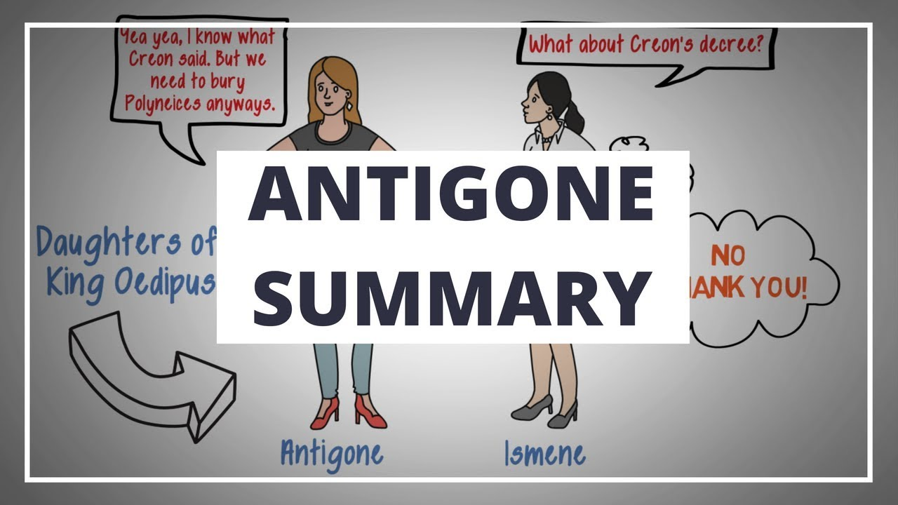Download ANTIGONE BY SOPHOCLES - ANIMATED PLAY SUMMARY