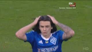 Микола ШАПАРЕНКО - Mykola Shaparenko - 19 years old Dynаmо Кyiv midfielder - Game UPL 04/05/2018