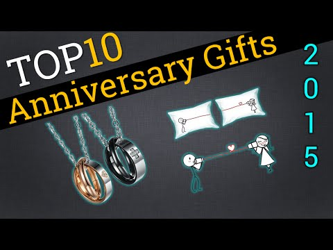Top 10 Anniversary Gifts 2015 | Compare The Best Anniversary Gifts