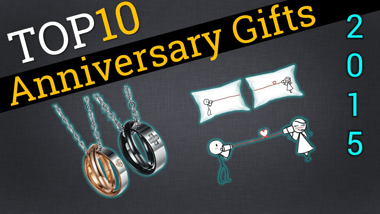 top 10 anniversary gifts 2015 compare the best anniversary gifts