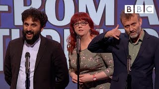 Unlikely lines from a thriller | Mock The Week - BBC