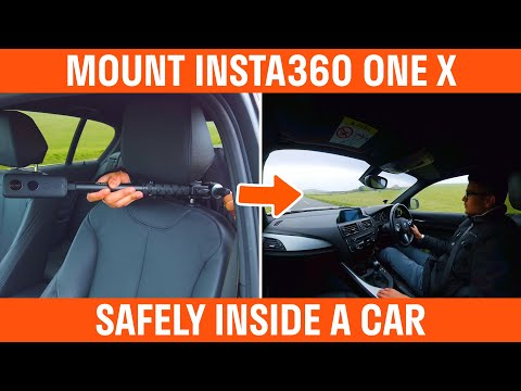 How To Mount The Insta360 One X Inside A Car
