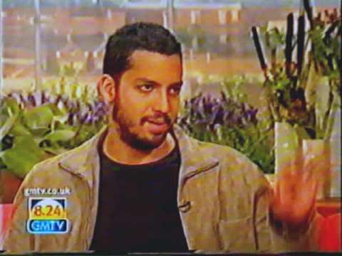 David Blaine and Eamonn Holmes - GMTV (2001) FULL INTERVIEW