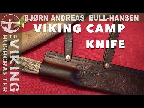Viking Seax Knife - New Sheath for my Viking Camp Knife