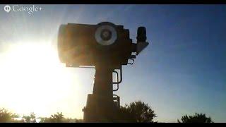 Partial Solar Eclipse Sunset Live - 10/23/14