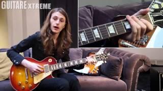 Guitare Xtreme Magazine # 78 - Guitar Lesson - Aaron Keylock