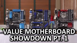 Top 10 Motherboards - Bang for the Buck Z97 Motherboard Showdown Part 1 - Physical Overview