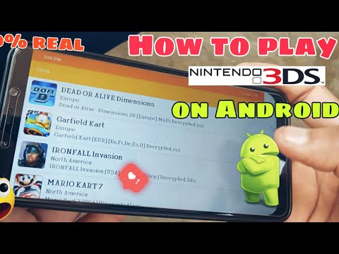 HOW TO PLAY NINTENDO 3DS GAMES ON ANDROID DEVICE || 100% REAL || 3DS EMULATOR ||