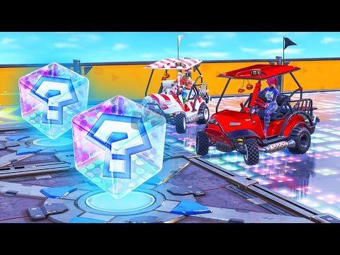 MARIO KART RACE in Fortnite (Creative Mode)