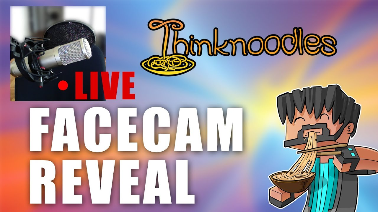 Thinknoodles Face Cam Vlog Reveal Replay Youtube