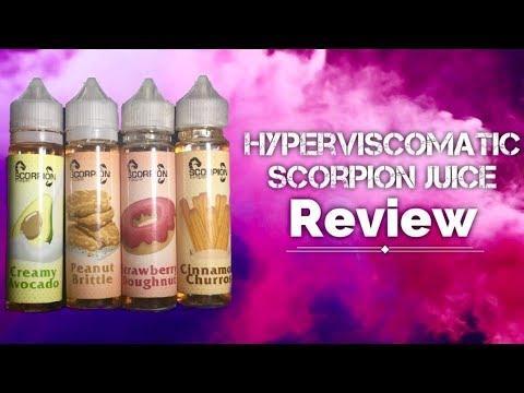 HyperViscomatic | Scorpion 4 Juice Review