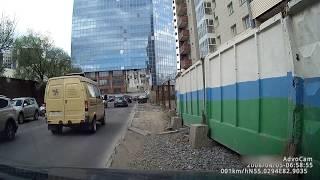 Падение люльки на Шамшурина 24.05.2017