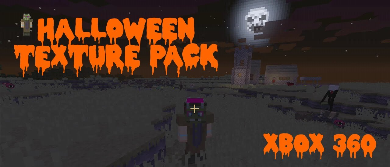 minecraft xbox 360 halloween texture pack wheres your bacon - Halloween Xbox 360