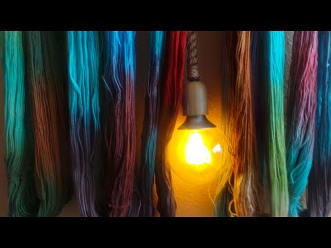 ANGIE BELL'S  KNITTING,YARN DYEING,SPINNING,MIXED MEDIA,HERBS,PODCAST PT.1 EPISODE 6