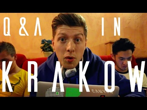 Q&A WITH THE PEOPLE OF KRAKOW   | Europe Daily Travel Vlog Day 6 (Krakow, Poland)