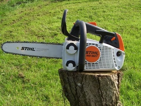 new stihl ms 192 t youtube. Black Bedroom Furniture Sets. Home Design Ideas