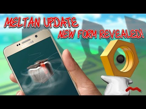 Meltan's New Form & How To Get Meltan In Pokemon Go!
