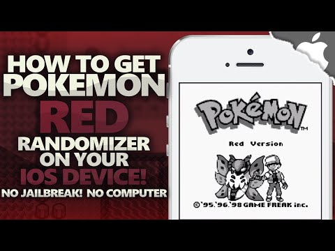How To Get Pokemon RED Randomizer 721 on your iOS Device! 8.4 & Below (NO JAILBREAK) (NO COMPUTER)