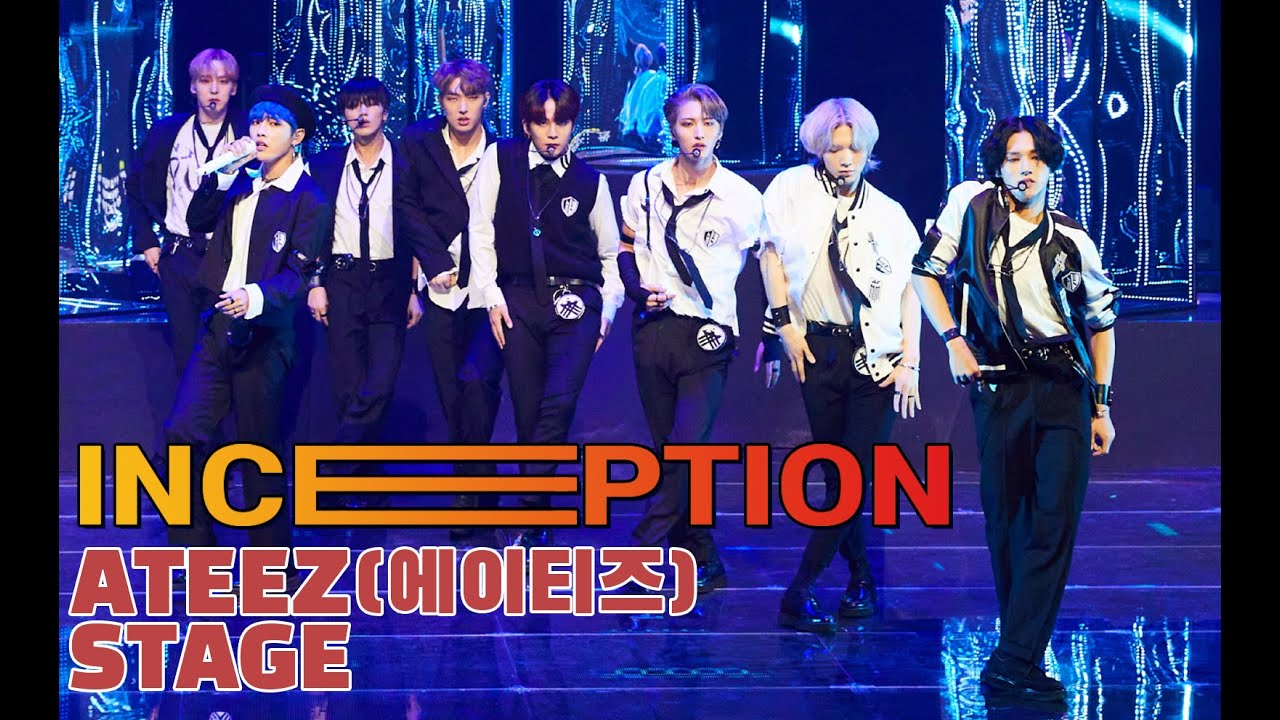 [LIVE] 에이티즈(ATEEZ), TITLE SONG ′인셉션(Inception)′ Official STAGE (Zero : FEVER part.1)