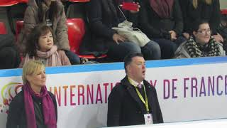 Brian Orser - Evgenia Medvedeva - Internationaux de France 2018