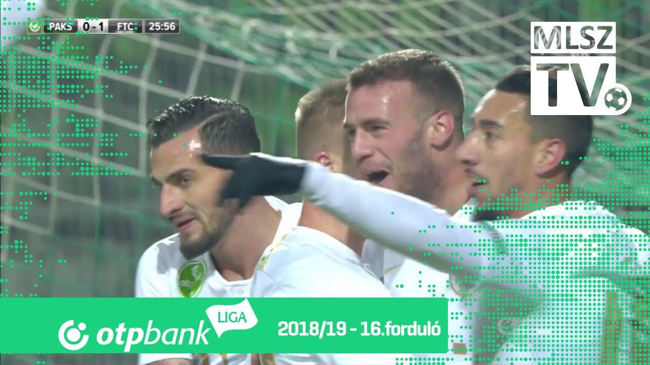 Blazic Miha gólja a Paksi FC – Ferencvárosi TC mérkőzésen