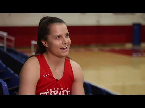 Amy O'Neill Leading Terriers In Right Direction