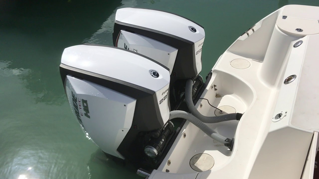 Evinrude G2 Engine noise