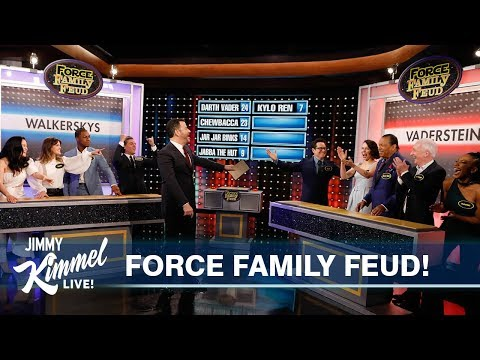 Star Wars Cast Plays Family Feud