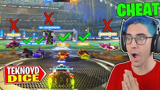 USO LE HACK nel TEKNOYD DICE su ROCKET LEAGUE (100% HACK)