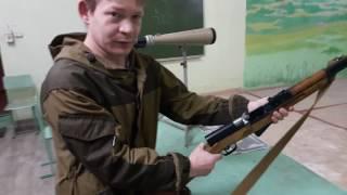 Мой гладкоствольный СКС , ВПО-208 стрельба на 50 метров в тире пуля 366 ткм полуоболока (конус)