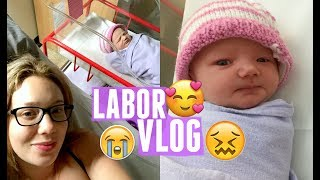 Labour & Delivery Vlog | Induced Labor | Jade Madden