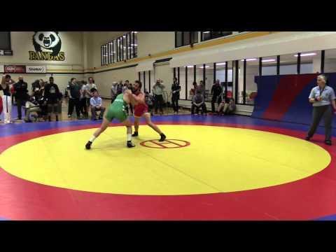 2015 Golden Bear Invitational: 82 kg Bronze Ben Christopher vs. Andrew Johnson