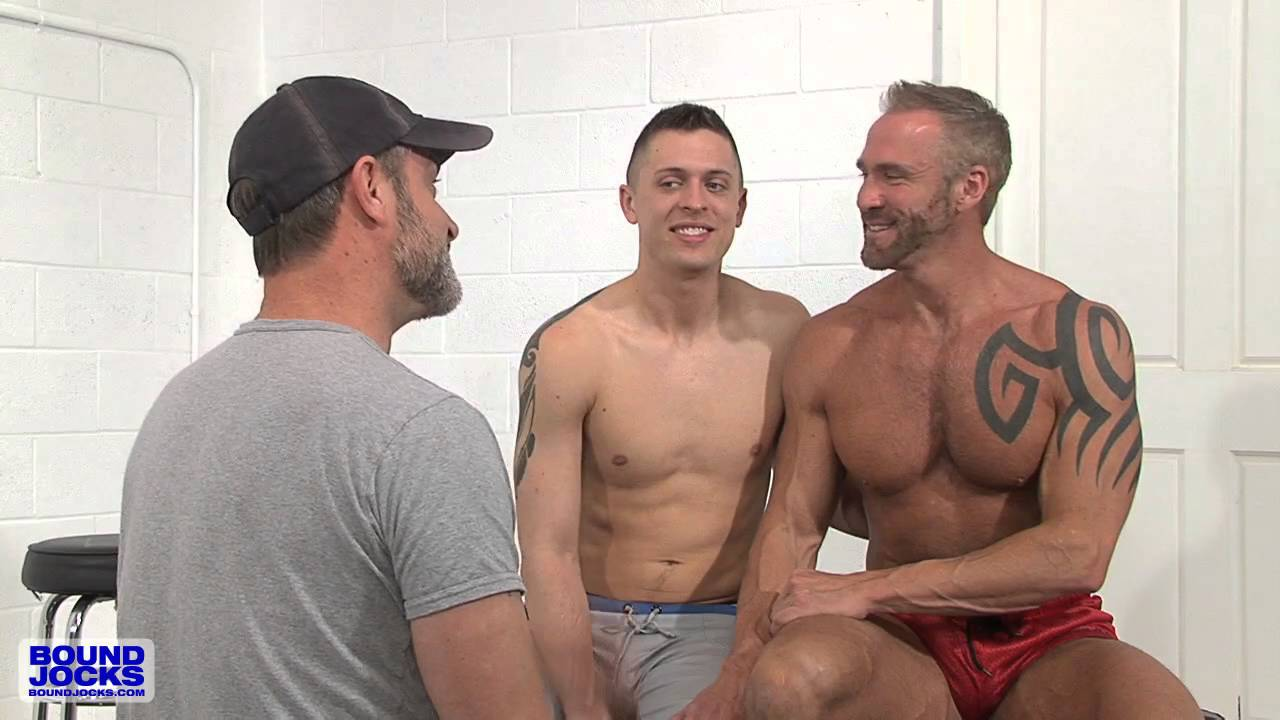 Free gay male slave group sex blowing two 5