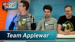Chat duell #01   applewar gegen team bohnen   staffel 3