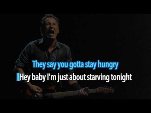 Bruce Springsteen - Dancing In The Dark - Karaoke - 1984