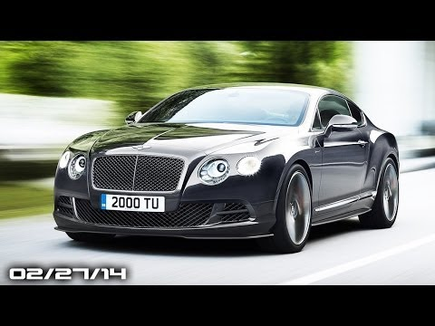 Bentley GT Speed, Jaguar XF R-Sport, Nissan Juke Teased, Mazda Hazumi - Fast Lane Daily