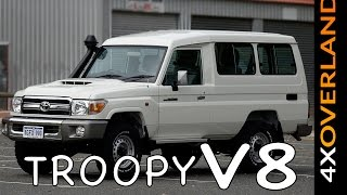 LAND CRUISER TROOPY V8 REVIEW. AndrewSPW Land Cruiser build-6