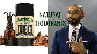 Top 8 Best Men's Natural Deodorants