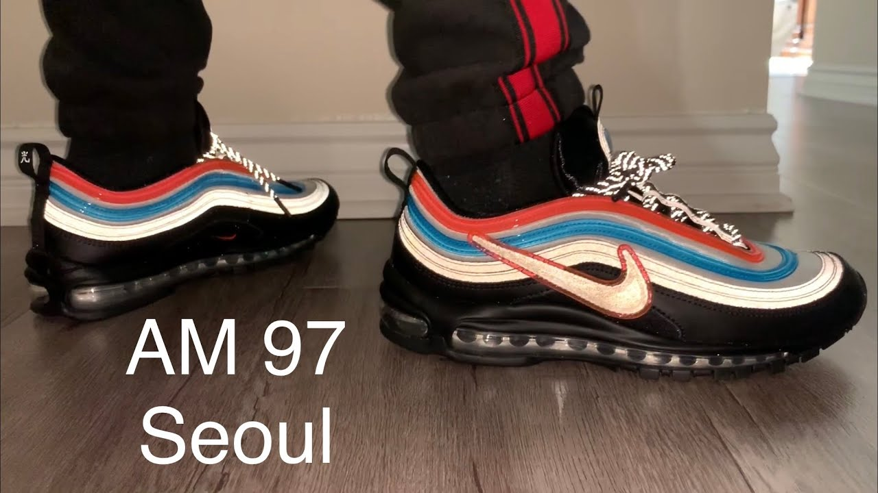 Nike Air Max 97 Neon Seoul On Feet + Sizing