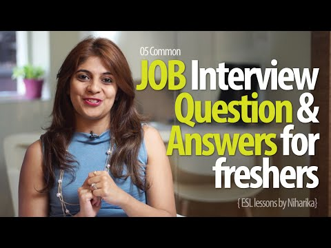 job-interview-question-answers-for-freshers---free-job-interview-tips-english-lessons