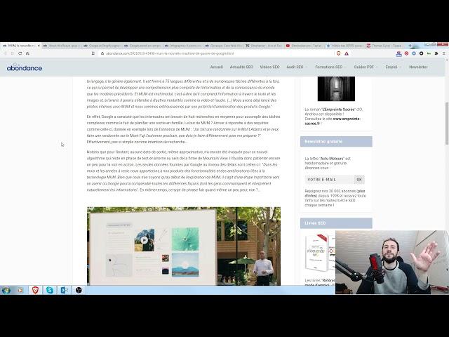 Retour sur les annonces Google I/O + Veille SEO 26/05/2021