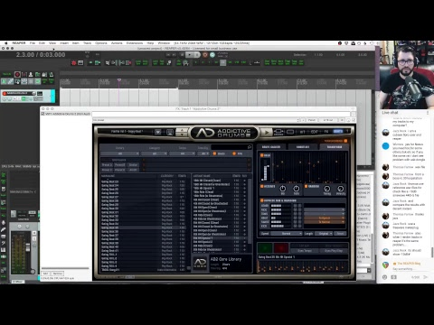Trying out plugins from XLN Audio - REAPER Blog Live Stream