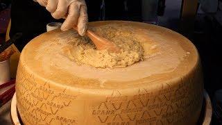 120만원짜리 치즈에 비벼주는 크림 치즈 파스타 (cr…