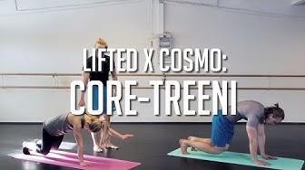 Tehokas Core-treeni - liikkeitä kehonpainoharjoitteluun | Lifted x Cosmo
