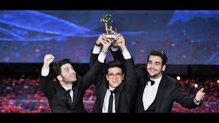 Il Volo - Grande amore - VINCITORE SANREMO 2015 Premiazione