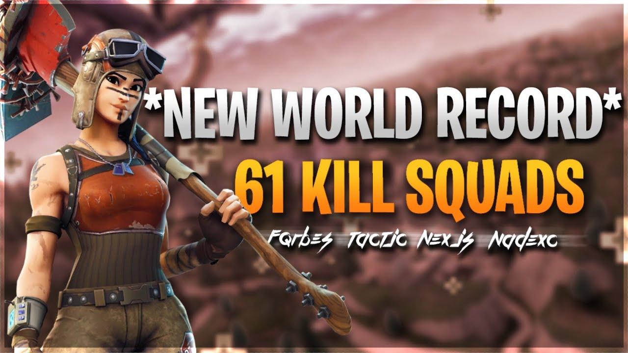 В Fortnite установлен новый рекорд. Отряд убил больше половины игроков на карте — видео