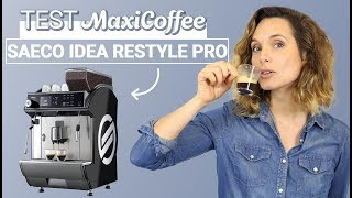 SAECO IDEA RESTYLE DE LUXE | Machine à café automatique | Le Test MaxiCoffee